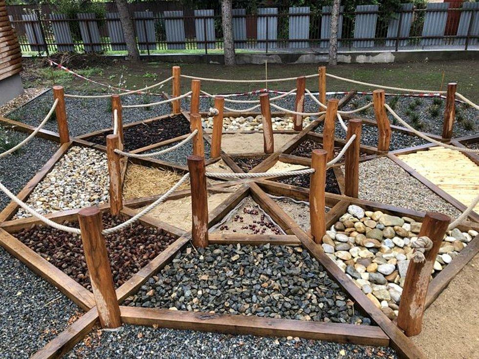 Zahrada hustopečské Pavučiny se dočkala obnovy.