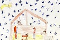 Jak vypadá Ježíšek? Na tuto otázku se snažily odpovědět děti z podivínské a lanžhotské základní školy.