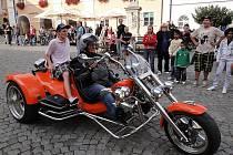 Motorkáři v Mikulově.