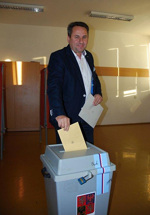 Kandidát na senátora za Břeclavsko Libor Nazarčuk (nezávislý za ANO).