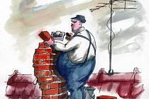 Kreslený humor Břetislava Kovaříka pobaví ve Valticích