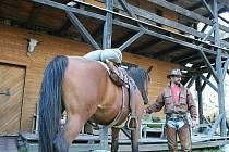 Pony ranč Zdeňka Veselského u Klentnice.
