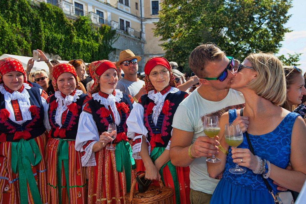 Pálavské vinobraní v Mikulově 2019.