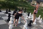 Ve Vranovicích si mohou opět zahrát obří šachy