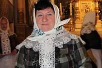 Vánoční koncert Radujme se, veselme se pořádala v Lanžhotě vedoucí tamního ženského sboru Marie Prajková.
