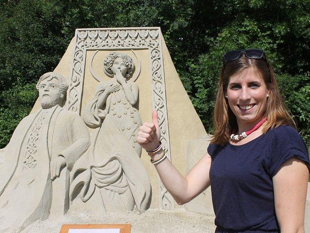 Výstava soch z mořského písku je v Lednici k vidění až do října.