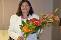 Dagmar Vilímková se narodila přímo v dílenské šatně břeclavské firmy Gumotex. Před pětapadesáti lety.