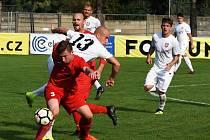 Fotbalisté Sokola Lanžhot porazili v Divizi D tým Staré Říše 4:0.