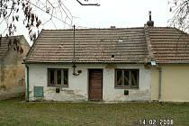 Předmětný dům v Podivíně.