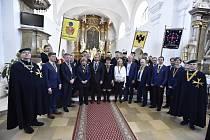 Velké Pavlovice hostily rytířskou slavnost s charitativní aukcí vín