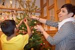 Na Vánoce zůstala v dětském domově v Mikulově polovina dětí.