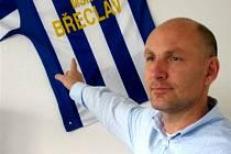 Jednatel MSK Milan Volf teď bude hájit modro-bílé barvy Břeclavi.
