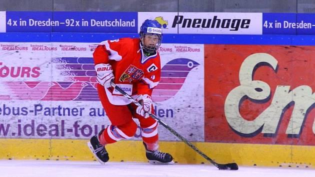 Sára Čajanová je nadějí českého hokeje.