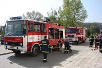 Velkopavlovičtí hasiči v akci