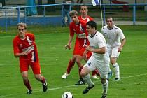 Břeclavští fotbalisté se s diváky rozloučili vítězstvím s Líšní. Zdolali ji 2:0.