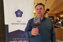 Libor Nazarčuk představil v Brně vína z Modrých hor.