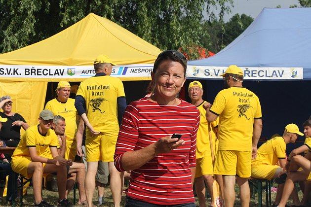 Slávka Kouřilová je bývalá úspěšná reprezentantka a současná trenérka vSVK Břeclav.