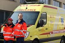 Zdravotníci ze zdravotnické záchranné služby v Břeclavi se dočkali nových prostor. V úterý je slavnostně otevřeli.