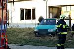 Požár ve Velkých Pavlovicích měl tragické následky.