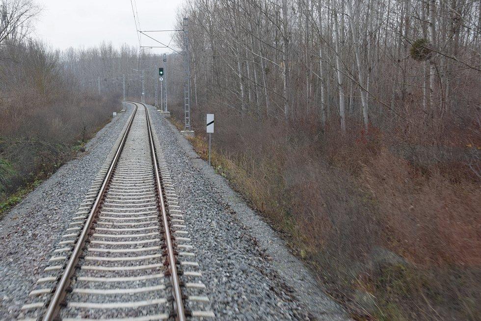 Nová trať z Hustopečí do Šakvic.