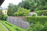Zámecká zahrada v Lysicích na Blanensku.