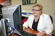 Jana Kramářová (Občanské fórum Břeclav) při online rozhovoru.