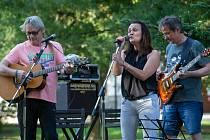 Hudba v parku v Břeclavi
