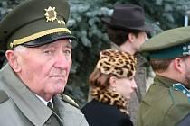Břeclavan Jan Hronek přišel uctít oběti druhé světové války.