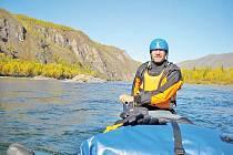 Vodáci na divoké vodě řek mezi Mongolskem a Ruskem
