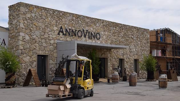 Nové sídlo Vinařství Annovino Lednice