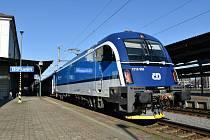 Lokomotiva Taurus už nyní jezdí ve službách Českých drah na lince Bohumín - Břeclav - Vídeň. Přibudou další.