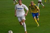 Břeclavětí fotbalisté i v devíti dokázali proti Zlínu vyrovnat na 2:2.