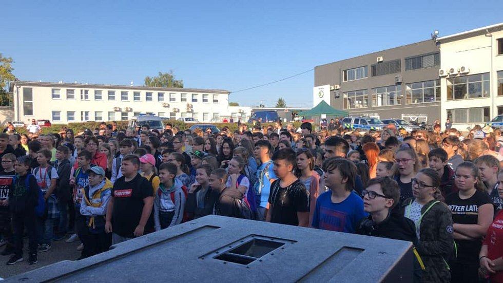 Den policie v Hustopečích přilákal na tisíc lidí.