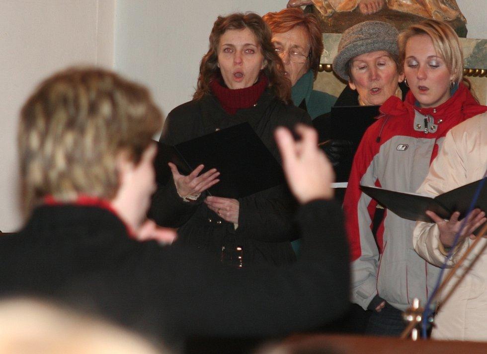 Tradiční novoroční koncert ve Vranovicích.