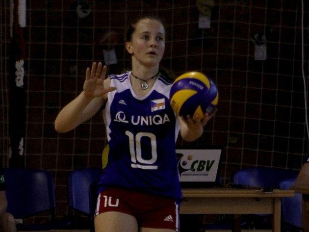 České volejbalové kadetky prohrály v Břeclavi se stejně starými Brazilkami 0:3.