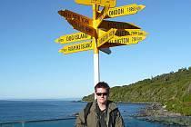 Fotograf Martin Dvořák z Břeclavi procestoval velký kus světa. Momentálně vystavuje svoje fotky z Nového Zélandu v prostorách lednických lázní.