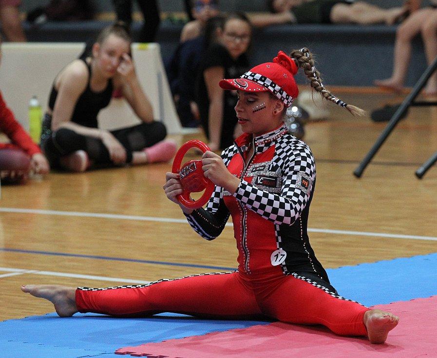 Sportovní hala v Lužicích hostila mistrovství republiky ve fitness.