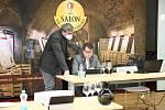 Šampionem Salonu vín 2021 se stalo Rulandské bílé od Vinařství Thaya z Hnanic.