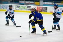 Břeclavské hokejistky uspořádaly o víkendu miniturnaj na domácím ledě.