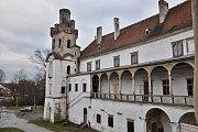 Břeclavský zámek.