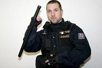 Ocenění Policista roku 2011 dostal za jižní Moravu Tomáš Komenda z Břeclavi.