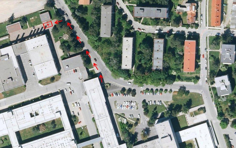 Břeclavská nemocnice zřídila nové odběrové místo pro testování na Covid-19.
