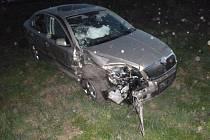 Dvě osobní auta havarovala v sobotu v podvečer ve Velkých Bílovicích. K nehodě došlo před šestou hodinou v ulici Svárov.