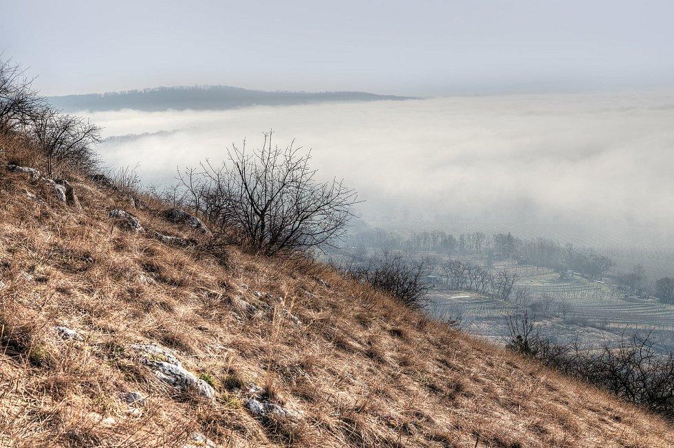 Dominantou města Mikulov je zámek. Při dobrém počasí je na něj krásný výhled ze Svatého kopečku.
