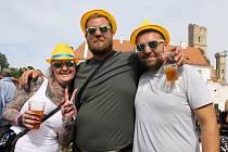 Slavnosti břeclavského piva v podzámčí. Ilustrační foto.