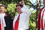 Mužácké sbory Podluží rozezpívaly Poštornou.