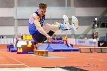 Radek Juška skákal poprvé od únorového představení na halovém republikovém šampionátu.