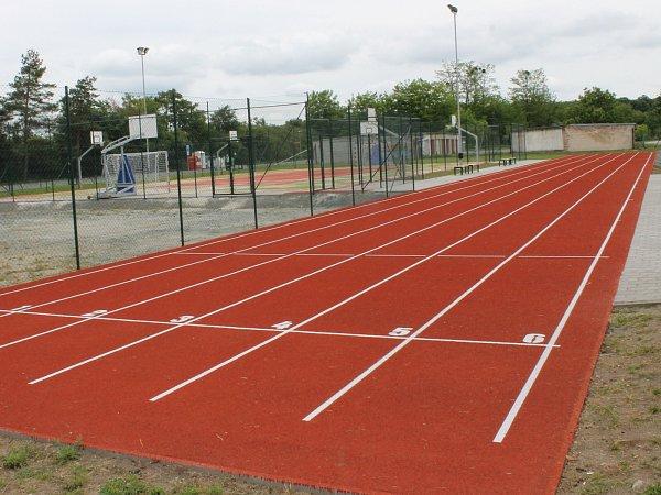 Atletická dráha. Ilustrační foto.