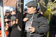 Svatý Martin se svou družinou přivezl v sobotu do velkobílovické sklepní trati Púrynky mladé víno. Na tamní slavnosti zazpívali mužáci z Velkých Bílovic i Vrbice.