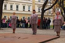 Devadesát let od vzniku Československé republiky si připomněli také v Hustopečích.